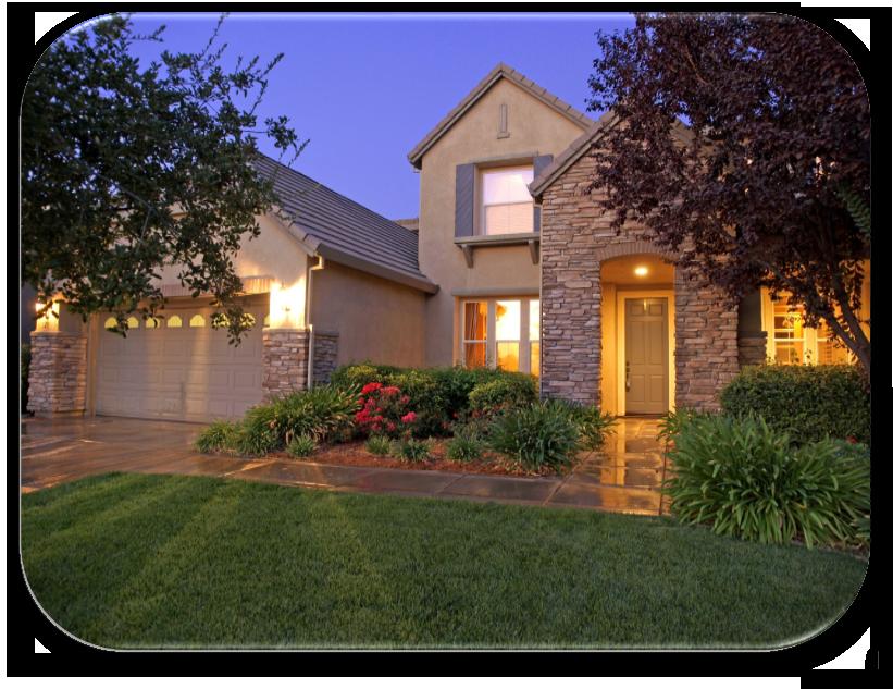 serrano front yard landscaping | HOA maintenance