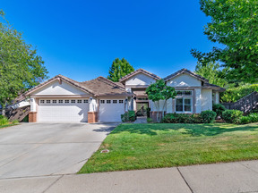 El Dorado Hills CA Single Family Home Sold: $600,000