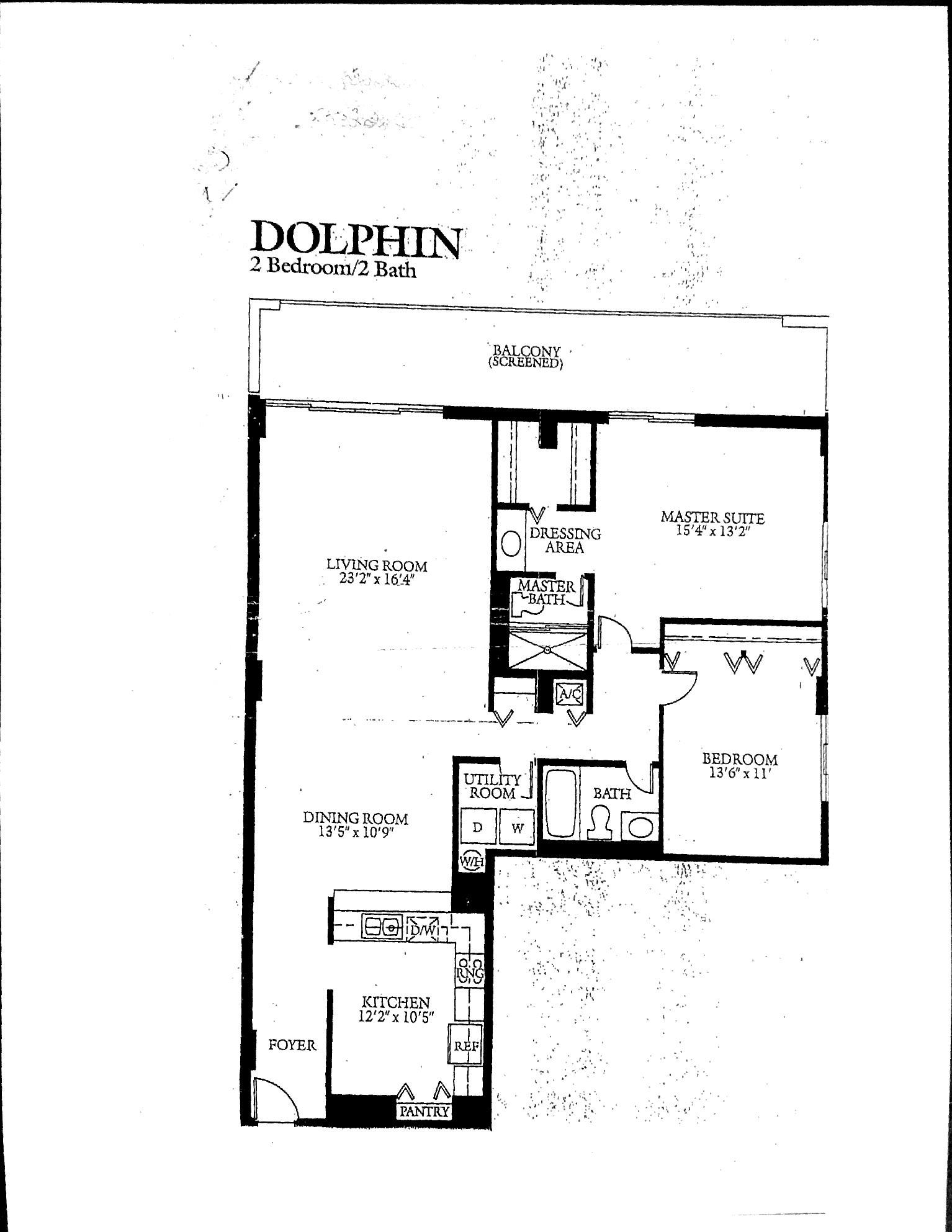 Coronado's Dolphin Floor Plan