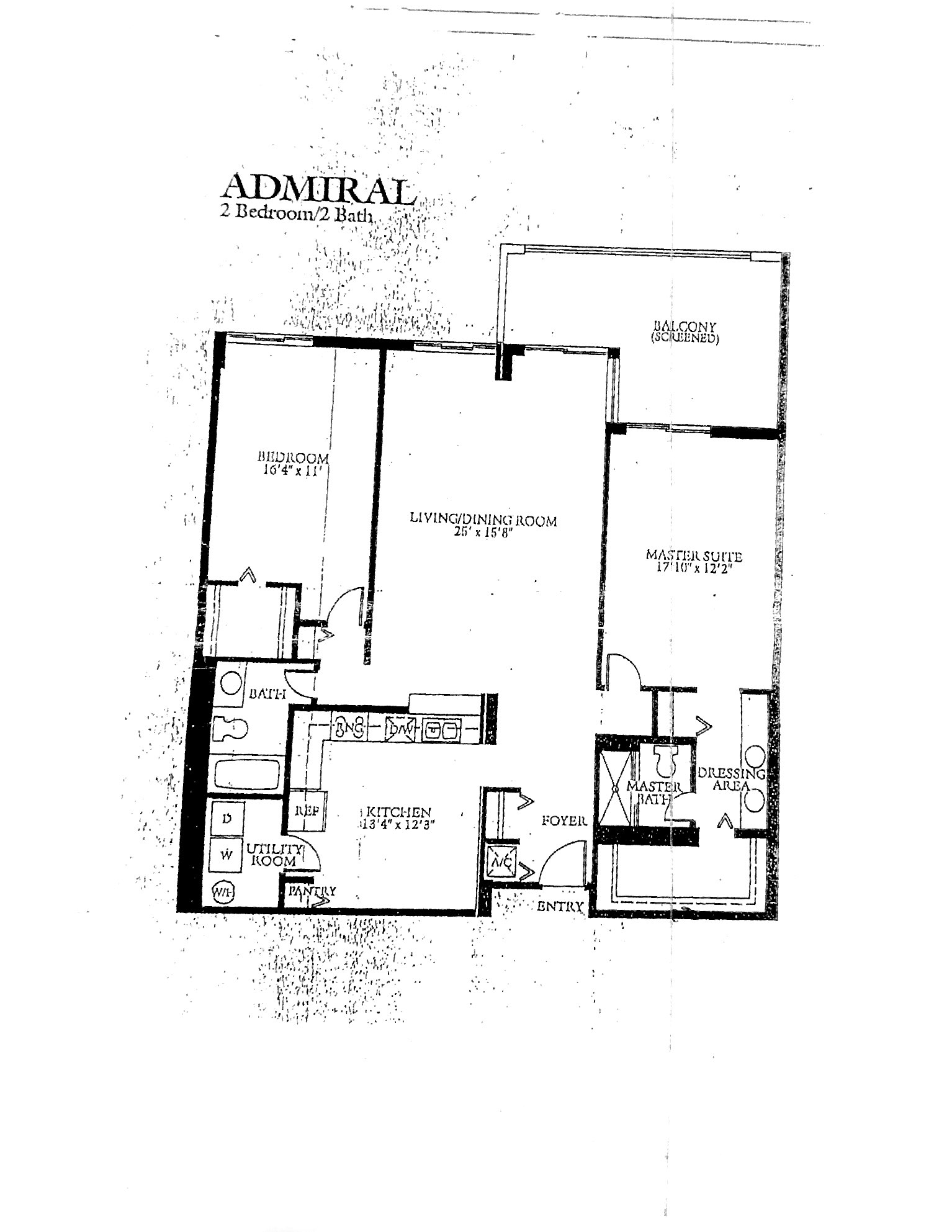Coronado's Admiral Floor Plan