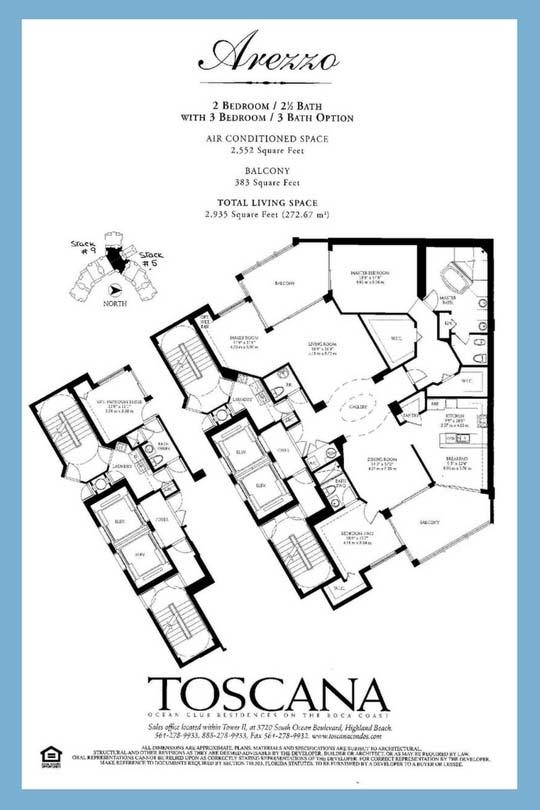 Toscana Floor Plan: Avezzo