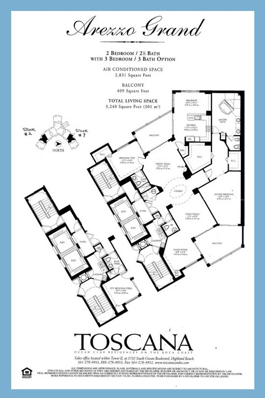Toscana Floor Plan: Avezzo Grand