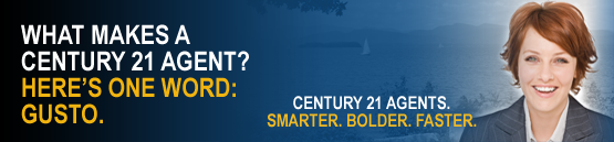 What makes a Century 21 agent? Here's one word: gusto.