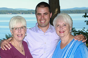Lynn Jackson, Susan Burdick and Will Benton of The Jackson Group, Century 21, Vergennes, VT
