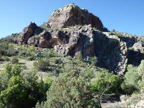Socorro County Residential Lots & Land For Sale: Water Canyon