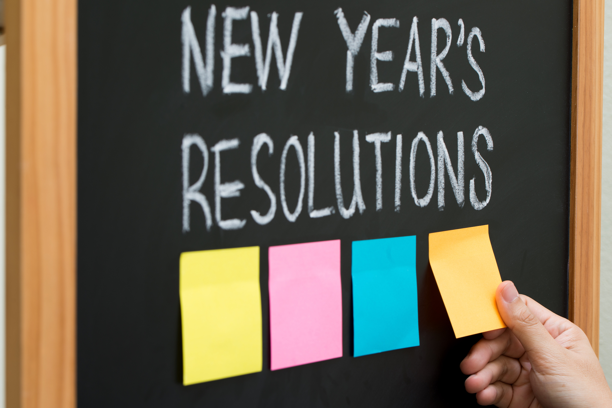 Chicago New Year's Resolutions