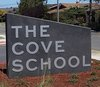 The Cove School Sign