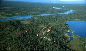 Commercial Remote Fishing Lodge: Remote Katmai National Park