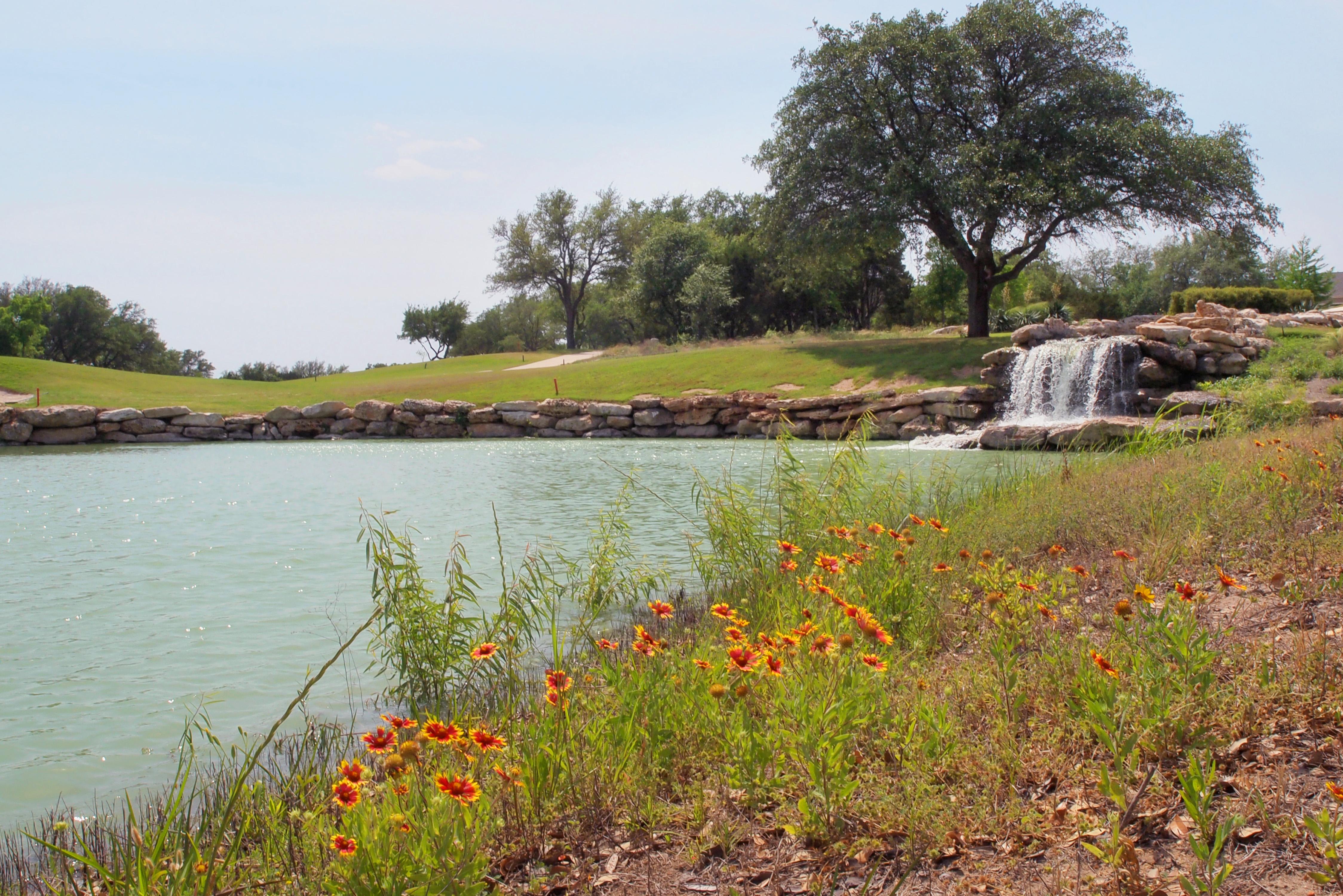 Cowan Creek Golf Course Water Feature