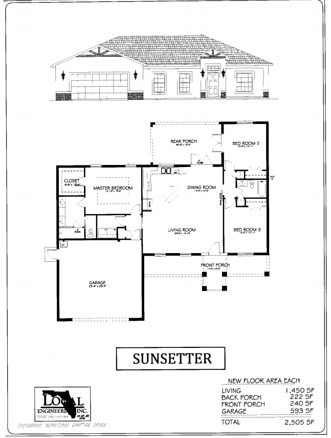 Sunsetter Home Plan
