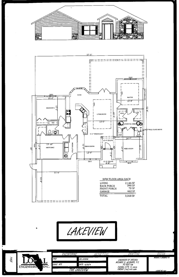 Lakeview Home Plan
