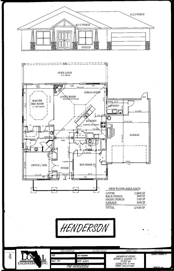 Henderson Home Plan
