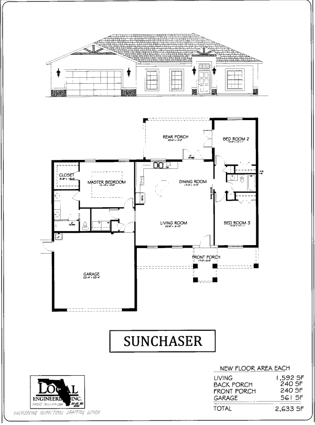Sunchaser Home Plan