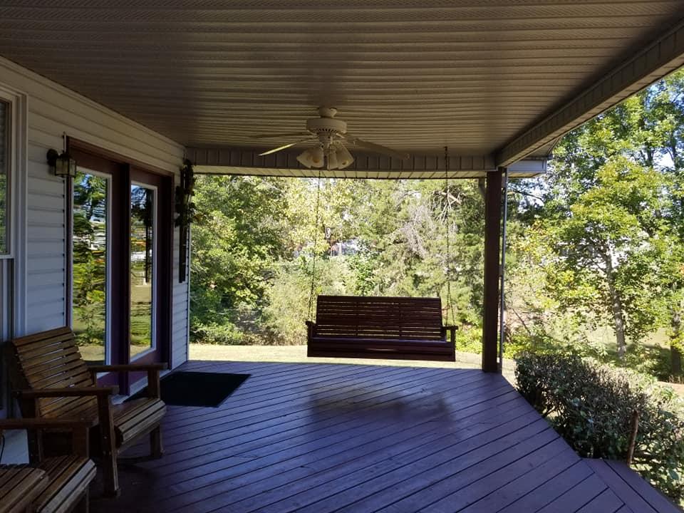 Ponderosa Porch
