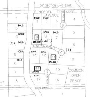 Lots And Land Sold: 13960 E Moyen Ruelle Ct