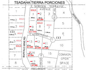Lots And Land Sold: 1000 N Buffalo Mine Rd.