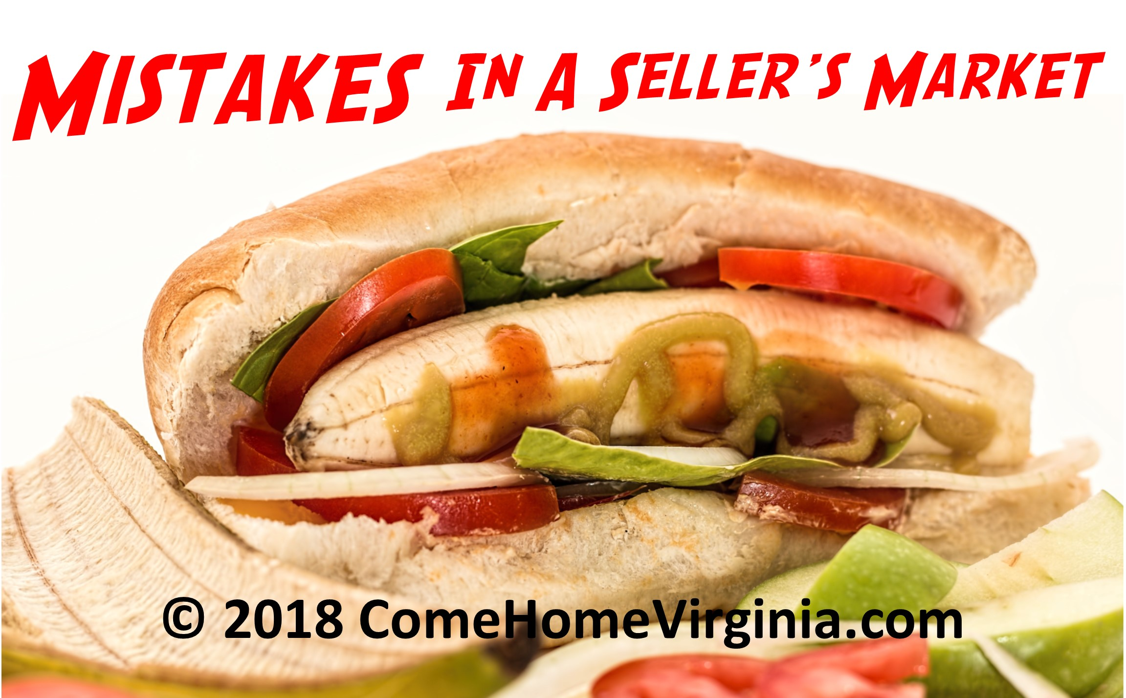 8 Costly Mistakes To Avoid In A Sellers Market Northern Virginia Real Estate Market