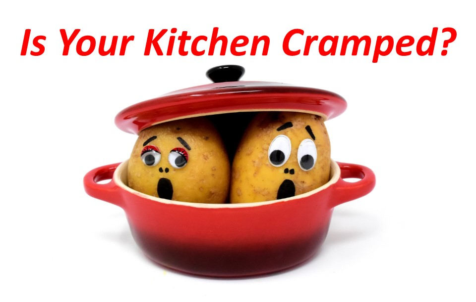 Kitchen Cramped 9 ways to open up your congested kitchen Dave Martin Realtor Northern Virginia Marketing Specialist