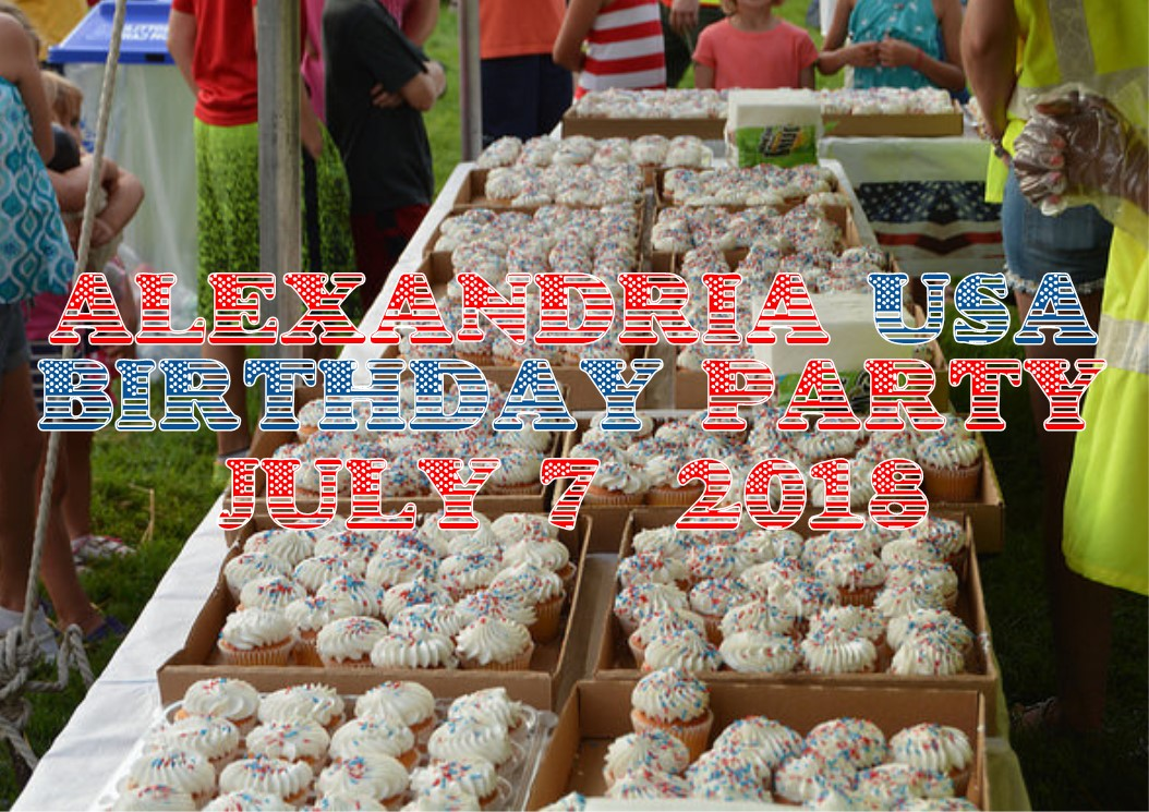 Alexandria Va USA Birthday Celebration July 7 2018