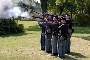 Fort Ward Camp Day Alexandria Va June 9 from 10 to 4 pm Reenactment