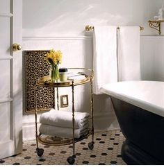 Rolling Cart for Bathroom