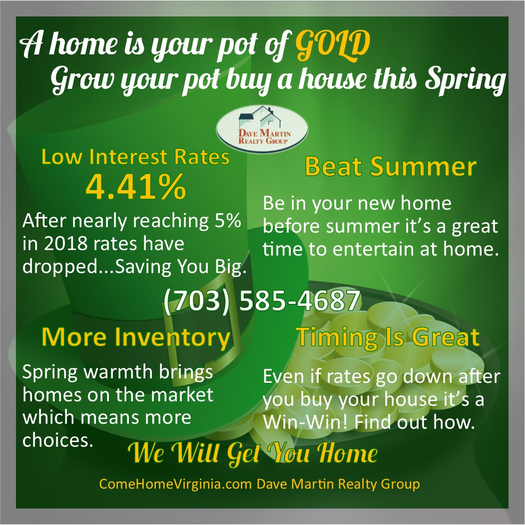 Home Buyer Infographic Spring 2019 Saint Patrick's Day