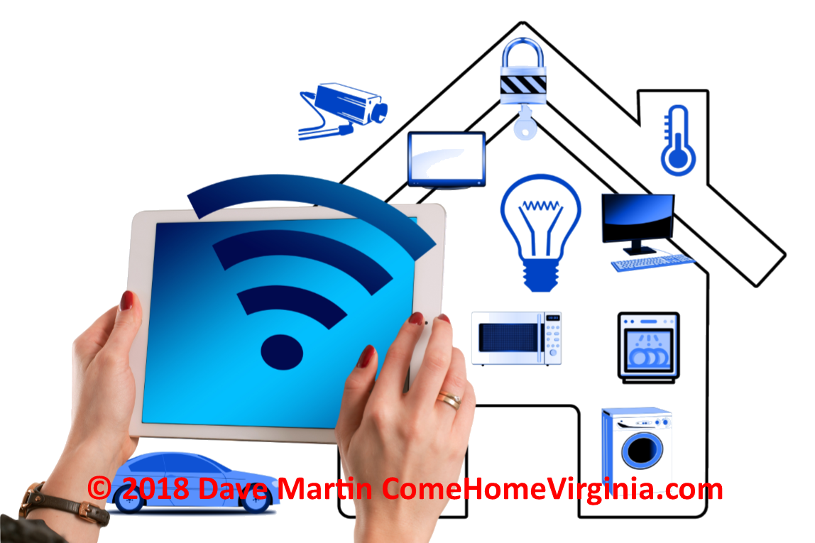 Selling a smart home Buyers want high tech homes Sellers should upgrade Northern Va Listing Specialist and home buyer agent real estate