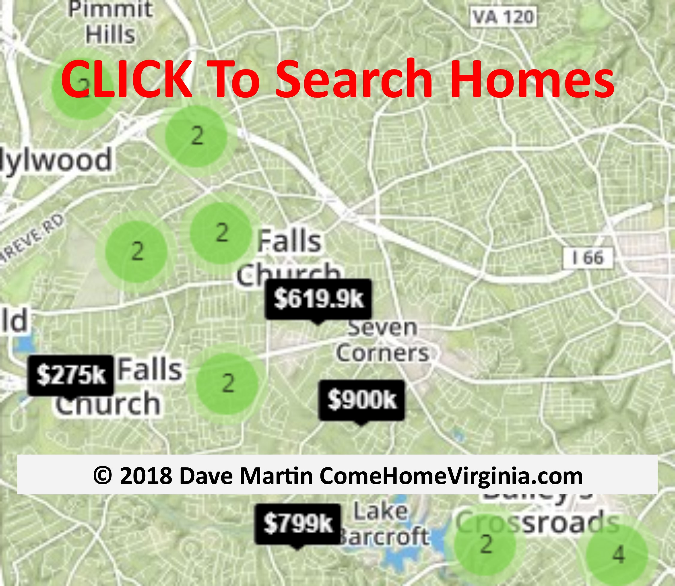Falls Church Virginia Map.Falls Church Va Named Healthiest Place To Live In The U S Realty