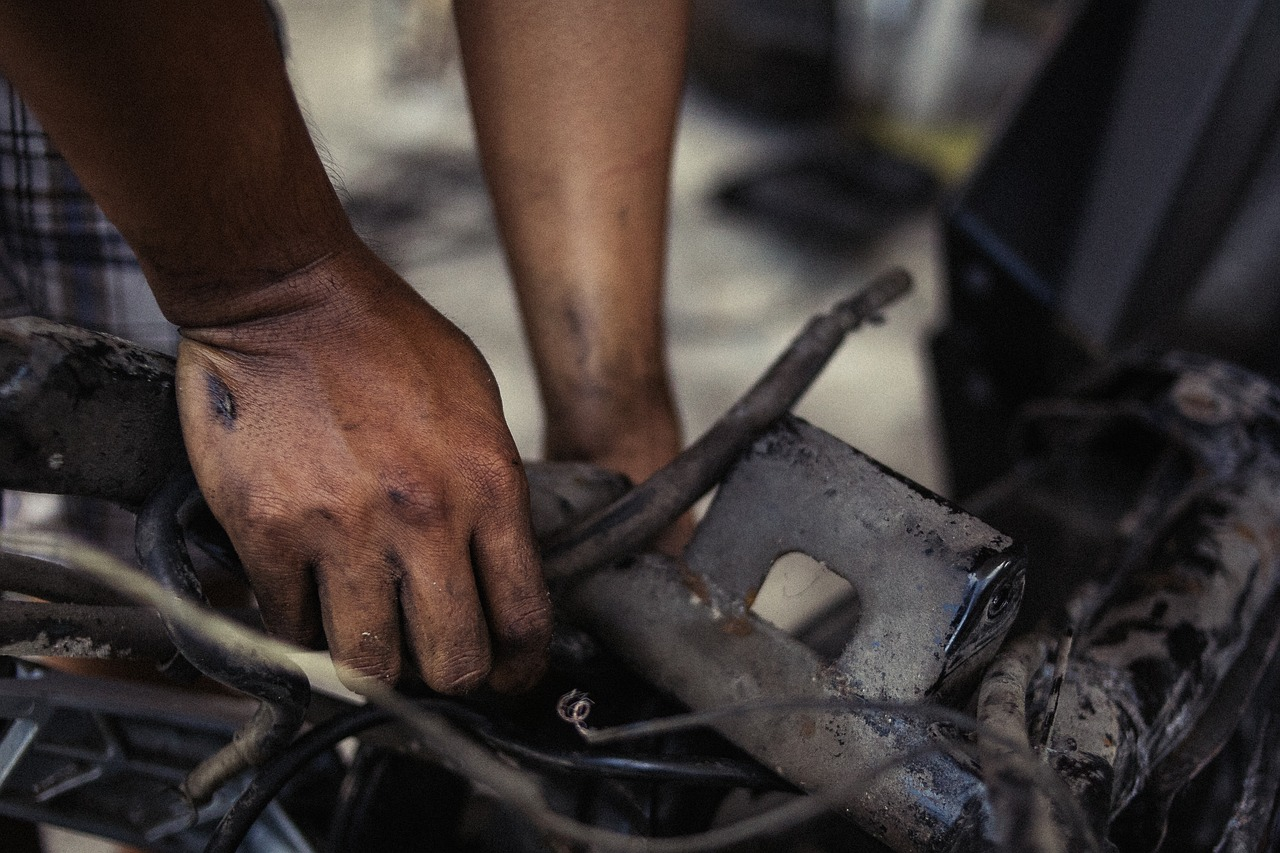 degrease your hands from auto repair with this helpful household tip