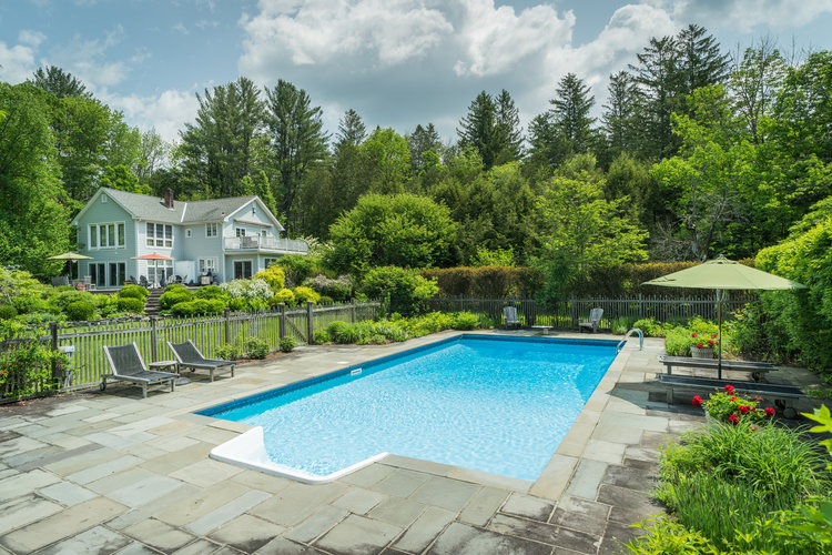 Halter Associates Realty Exclusive Off-Market Listing: Luxury Farm House on Cooper Lake in Woodstock, NY