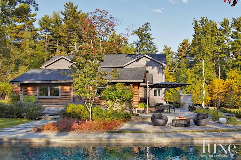 Exclusive Listing: Modern Luxury Log Cabin in Woodstock, NY