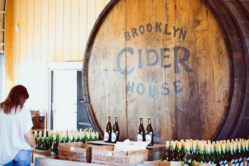 Brooklyn Cider House at Twin Star Orchards, New Paltz, NY