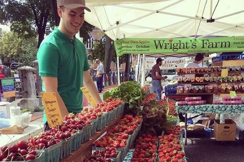 Kingston Farmers Market, Kingston, NY