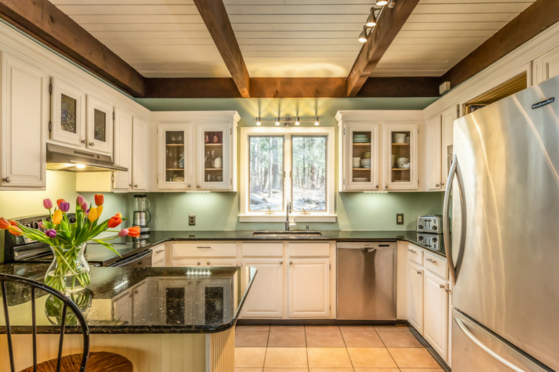 Rustic Contemporary in Woodstock, NY (Kitchen)