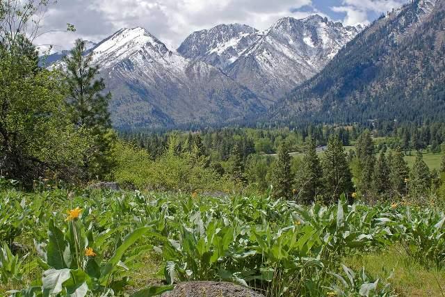 Wedge & Enchantment Mountains, Leavenworth WA
