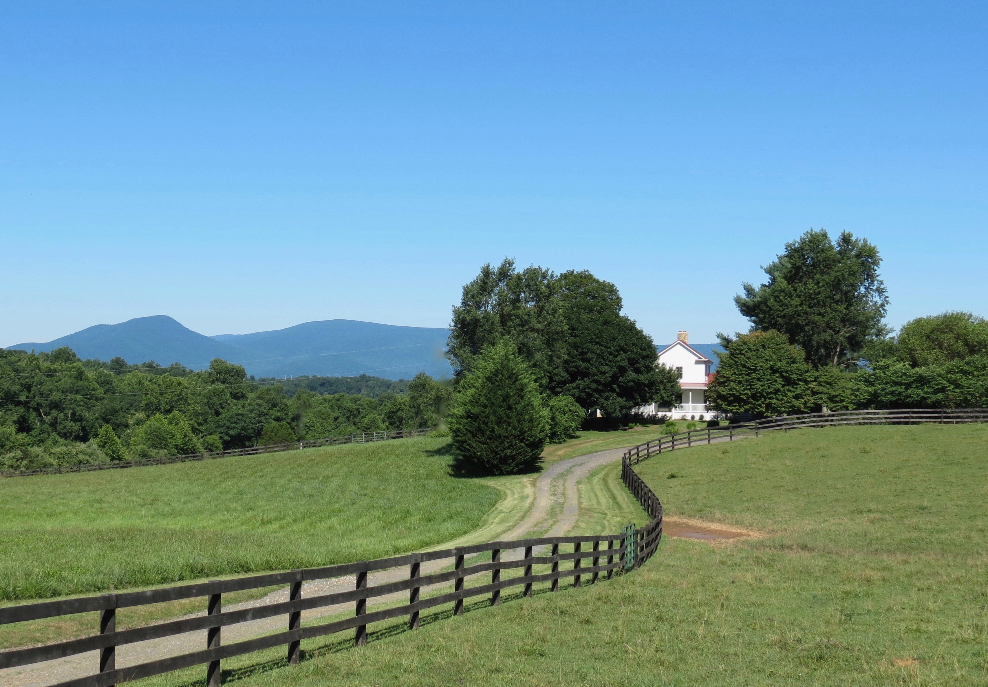SOLD: 22 acres, farmhouse, barns, view