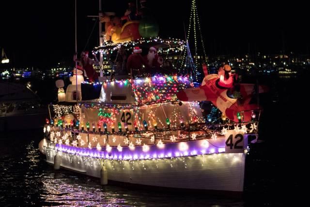 Marina Del Rey Christmas Boat Show