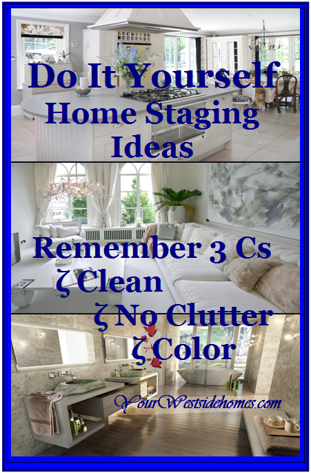Do It Yourself Home Staging Ideas