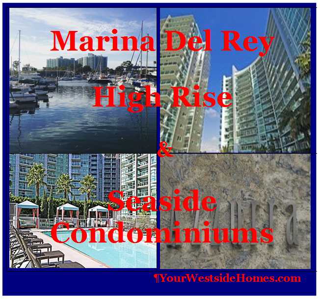 Cove Condominiums Marina Del Rey For Sale or Lease