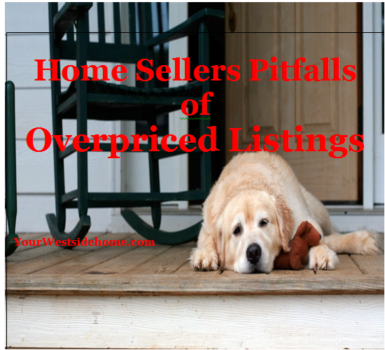 Home Sellers Pitfalls of Overpriced Listings.