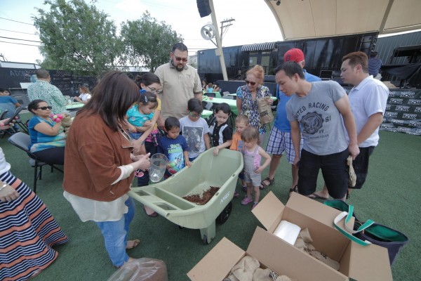 Kid-friendly activities at Downtown Container Park in Las Vegas