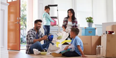 5 Ideas On How To Make Unpacking And The Move With Children And Pets