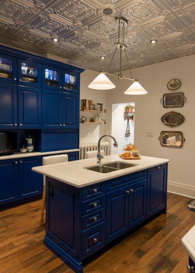 Farmhouse Kitchen by Elmwood Fine Custom Cabinetry