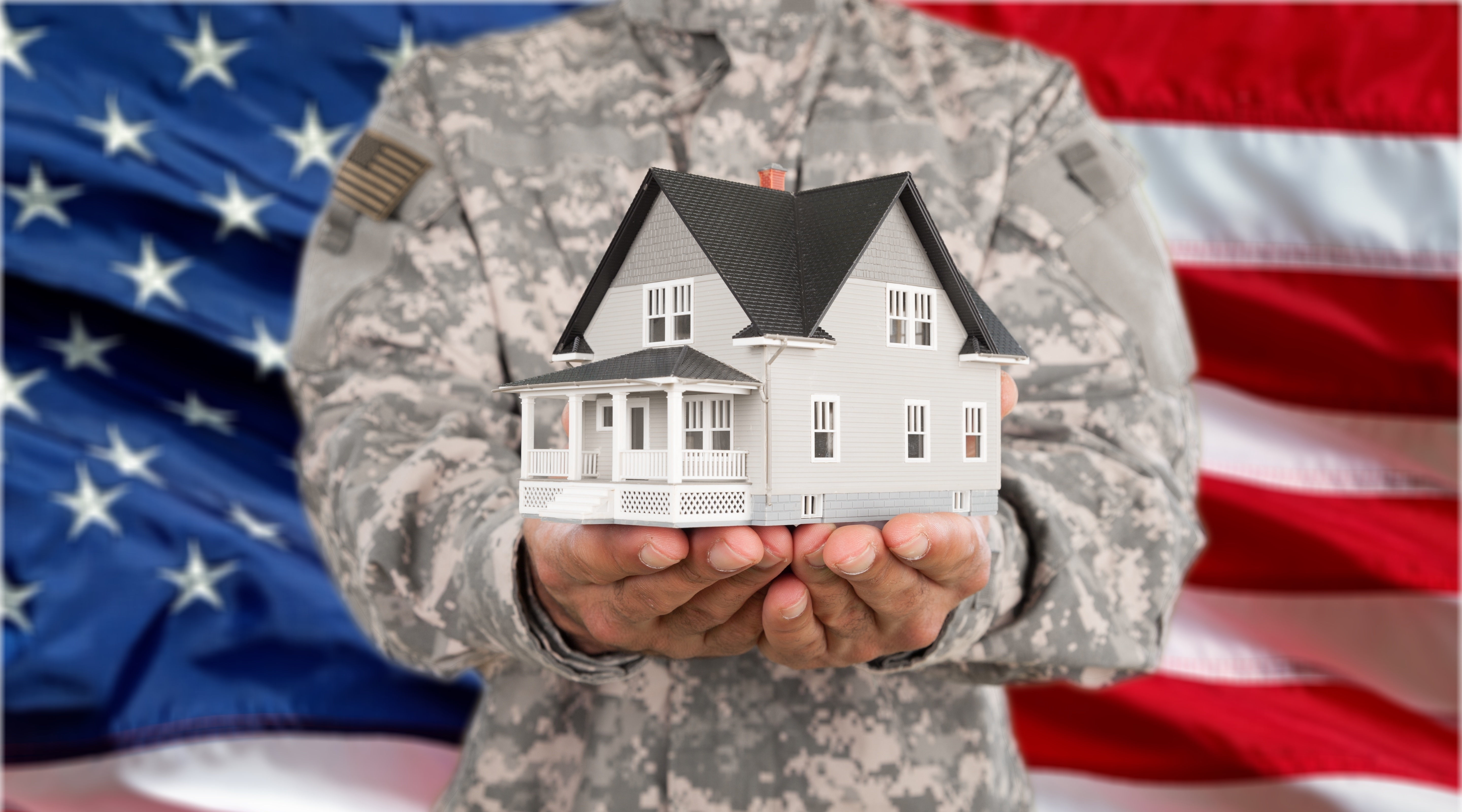 solider with home ownership