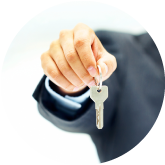keys to your new property with United Country Southern Oklahoma Realty