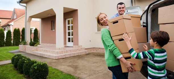 moving boxes buyer just purchased home