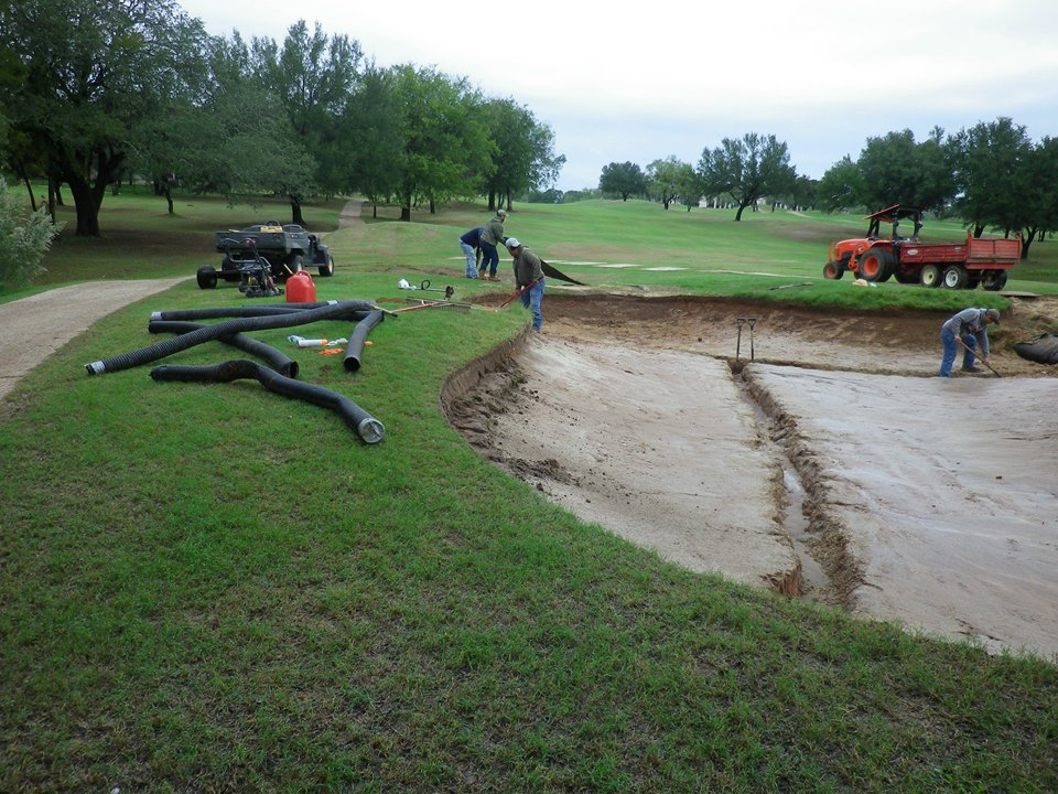 White Bluff Resort New Course Greens Renovation