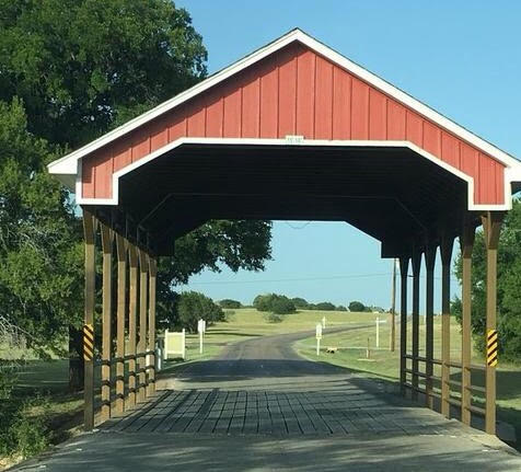 Covered Bridge on White Bluff Drive