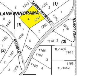 Land    Sold: 1211 Tammy Terrace
