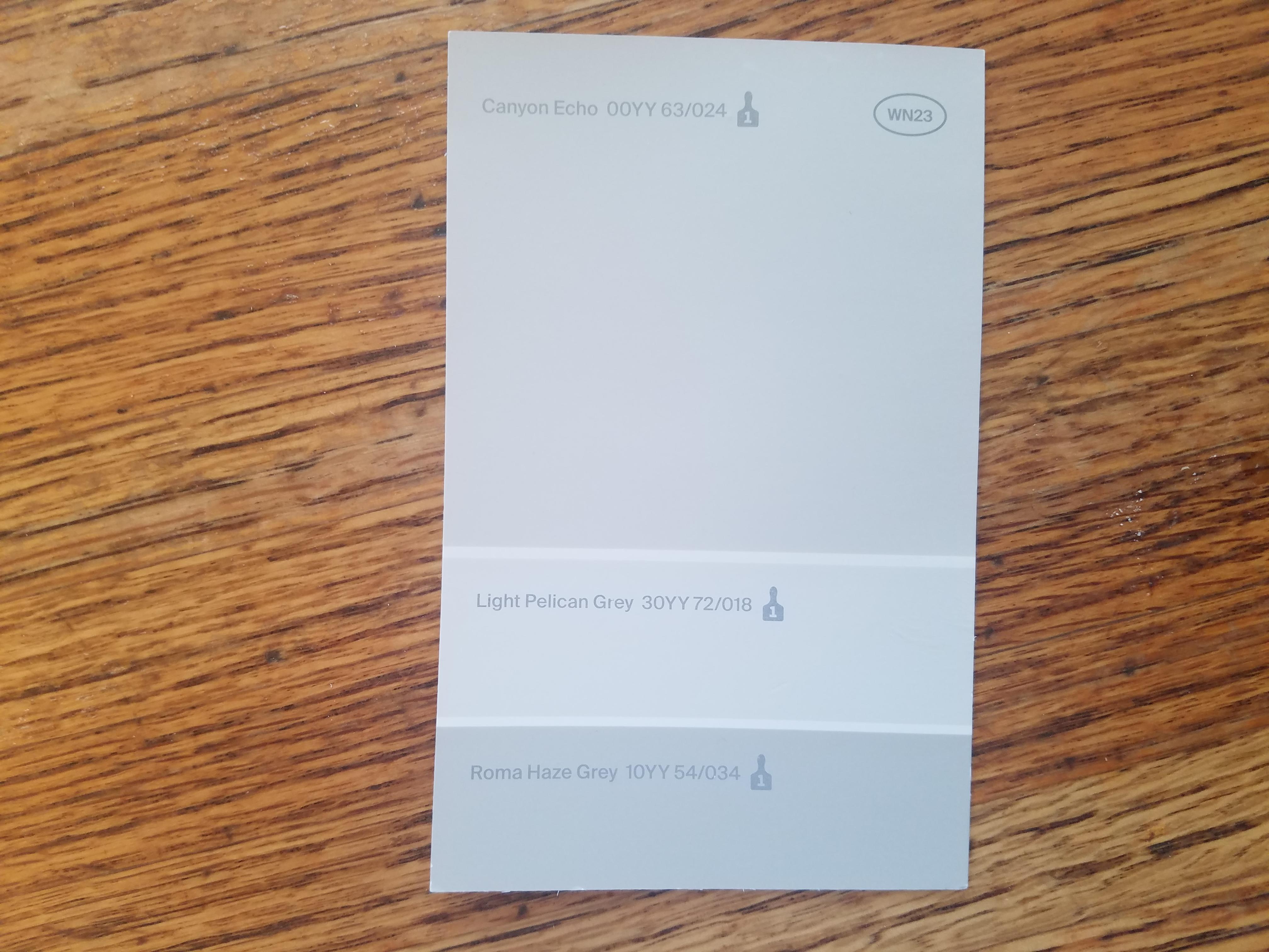 Gray paint swatch